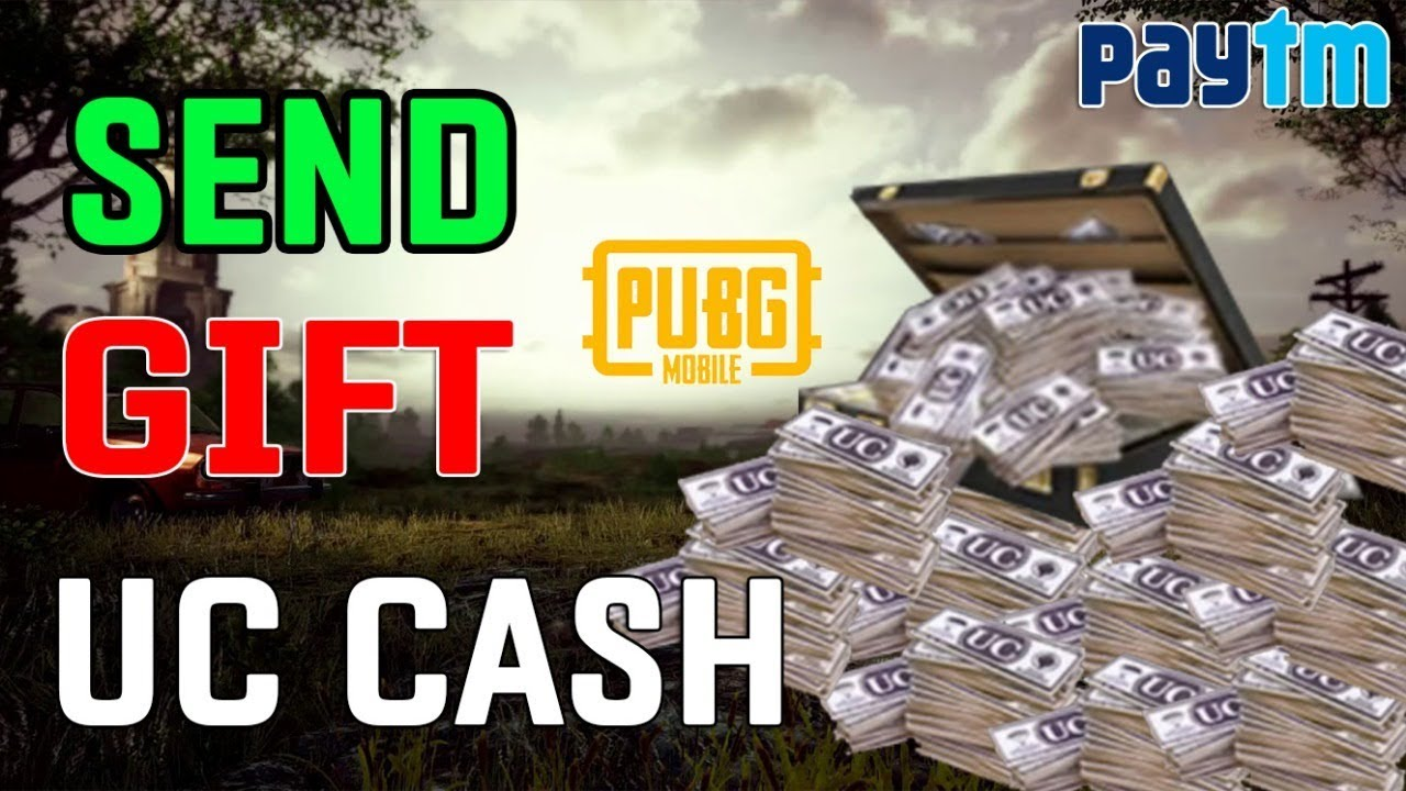 ( New ) How To Send or Gift UC CASH To Friends In PUBG Mobile Using Paytm (  OFFICIAL )