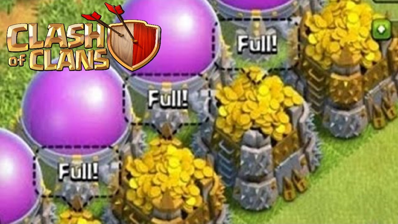 come fare velocemente risorse su clash of clans