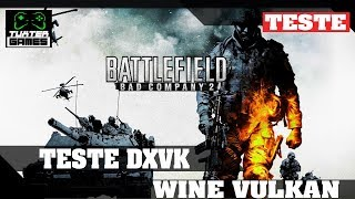 Battlefield bad company 2 DXVK // Wine 3.6 Staging via Lutris HD
