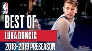 Best of Luka Doncic | 2018 NBA Preseason