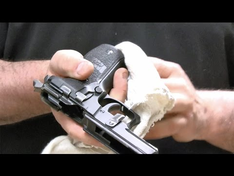 Cleaning Your SIG SAUER Classic Line Pistol