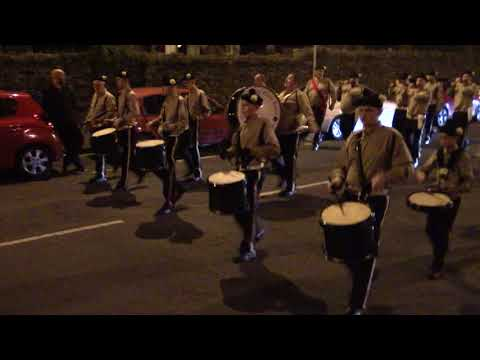 Newtownabbey Black & Tans FB @ Ulster Grenadiers FB Parade 2017