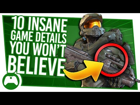 10 INSANE Game Details You Won't Believe Exist!