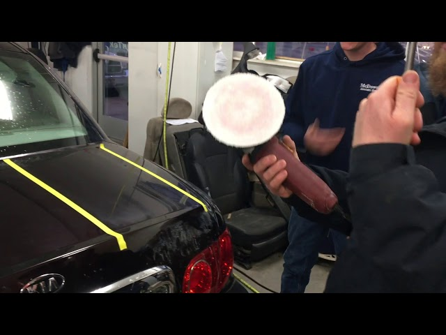 Car Exterior: Polishing Scratches and Scuffs Part 2 - Boise, Idaho