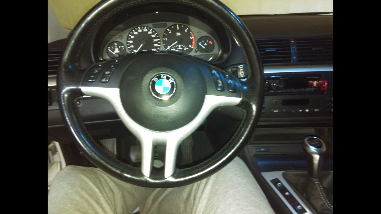How To Remove Steering Wheel Bmw E46 E39 E53 Youtube