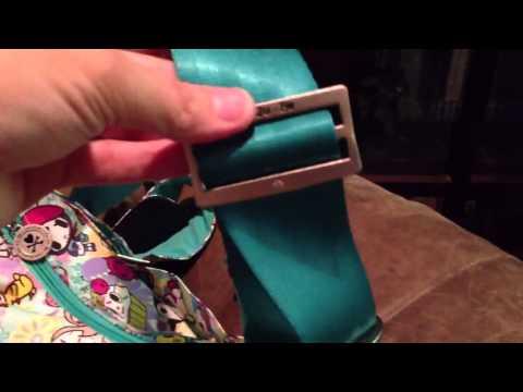 How To Install A Custom Seat Belt Strap On A Ju-Ju-Be Hobo Be Diaper Bag