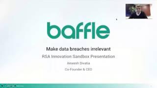 rsa 2017 innovation sandbox video submission baffle inc