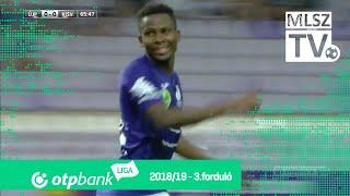 Diallo Alassane gólja az Újpest FC - Kisvárda Master Good mérkőzésen
