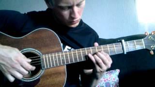 Jenni Vartiainen - Missä muruseni on with acoustic guitar