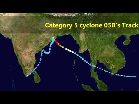 1999 Odisha Super Cyclonic Storm BOB 06