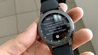 Едем за часами Gear S3 на Speedway mini4 (примеры видео на HTC U11, OnePlus 5, Firefly 8S)