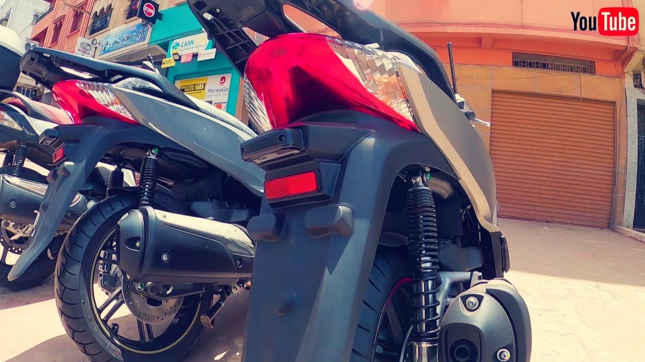 Sh 300i Smart Key 2020 Antipatinage / المراجعة الشاملة لدراجة الجديدة كليا