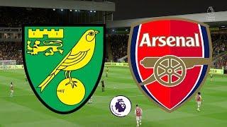 Premier League 2019/20   Norwich City Vs Arsenal   01/12/19   Fifa 20