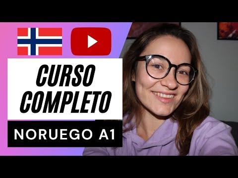 CURSO DE NORUEGO A1 | GRATIS 🚀| Aprender noruego