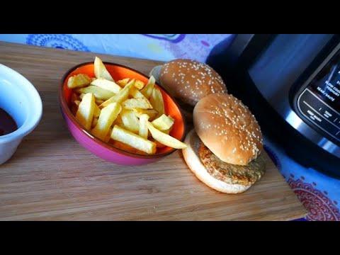 express-hamburgers-–-frites-–-french-fries-–-avec-le-ninja-foodi-max-air-crisp-air-fryer