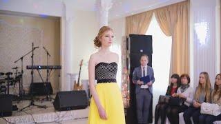 Показ платьев салона Scarlet в рамках Beautiful inside & out. Часть 2