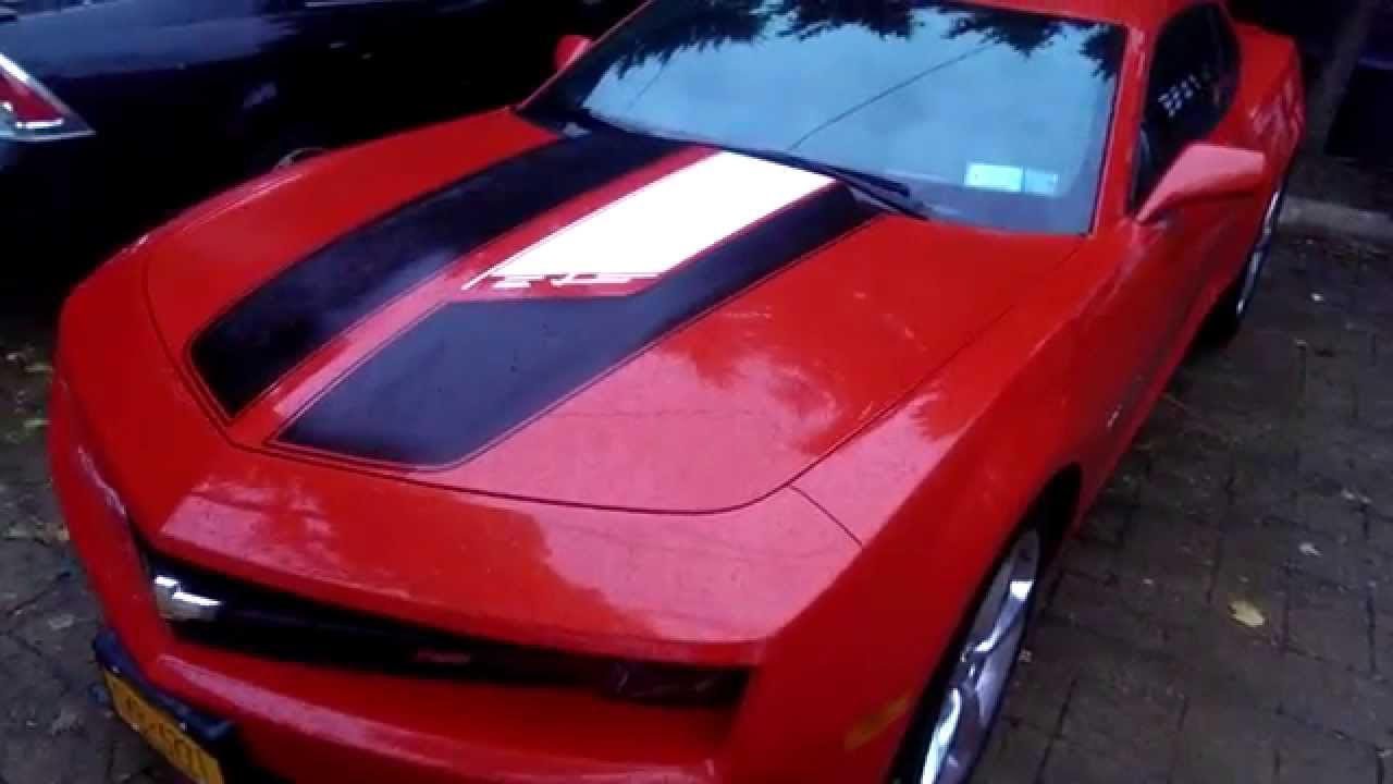 2013 Camaro RS with 45th Anniversary Edition Style Stripes - YouTube