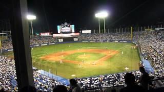 Baseball 野球 - Tokyo Yakult Swallows vs. Yomiuri Giants - 2011/07/06
