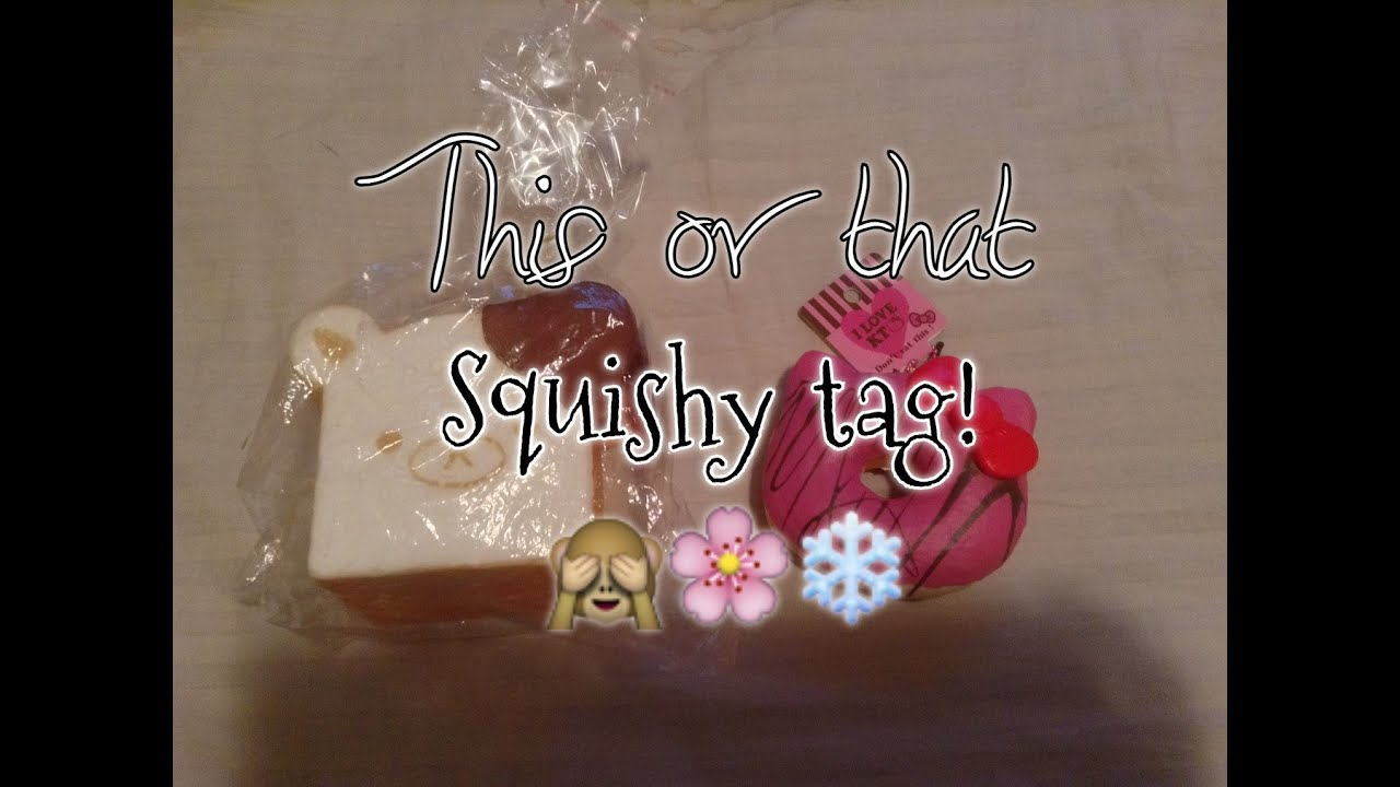 THIS or THAT Squishy Tag! - YouTube