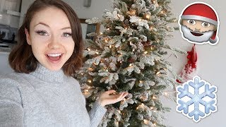 Decorating My Apartment For Christmas! + 22nd Birthday Surprise!
