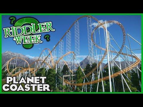 STRATOS! Riddler Week Day 2! Coaster Spotlight 276 #PlanetCoaster