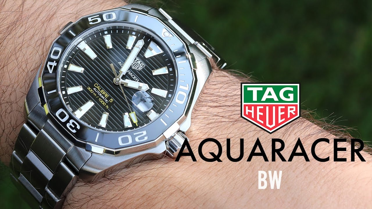 Tag Heuer Aquaracer - Is this the best $2,000 Swiss Diver?