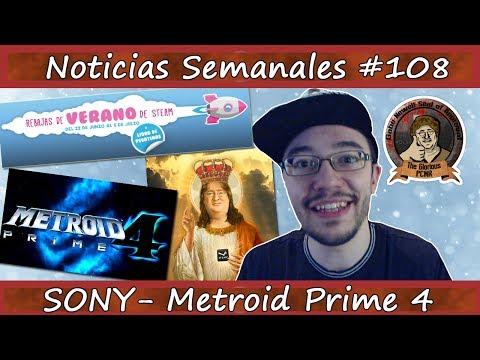Noticias semanales #108 - METROID PRIME 4 - SONY - Atari - Rebajas STEAM - Kojima