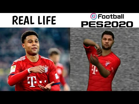 PES 2020 MOBILE CELEBRATIONS IN REAL FOOTBALL
