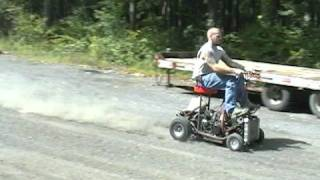 Barstool Racer Snowmobile Engine