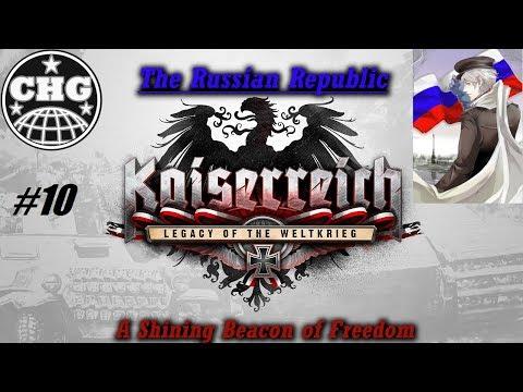 HOI4: Kaiserreich - Russian Republic #10 - Belgium/British Instability (Haile gets CK2 Achievement?)