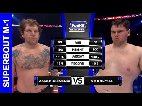 Александр Емельяненко Vs. Тадас Римкявичюс, Emelianenko Vs. Rimkevicius - FULL