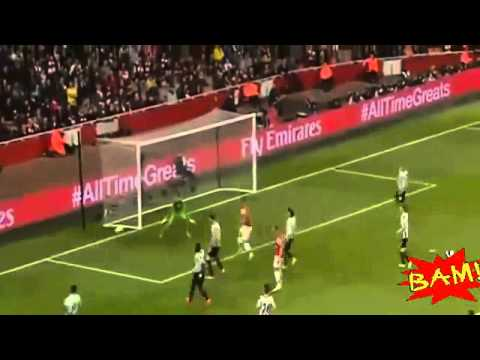 Arsenal vs Newcastle United 3-0 All Goals & Highlights 28/04/2014 HD