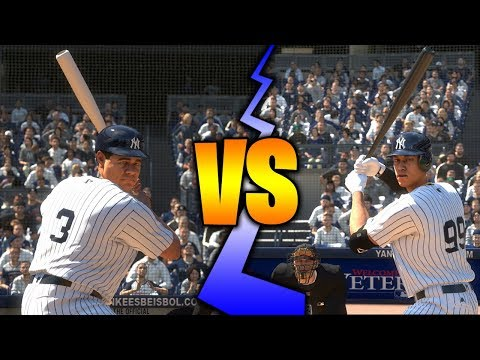 Babe Ruth vs. Aaron Judge | MLB The Show 18 Home Run Derby Challenge
