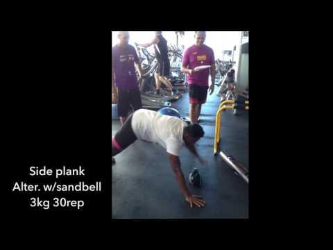 Fitness test Celebrity Fitness Malaysia