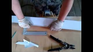 видео Пример разрезки внутренней стены на блоки (монтажный чертеж)