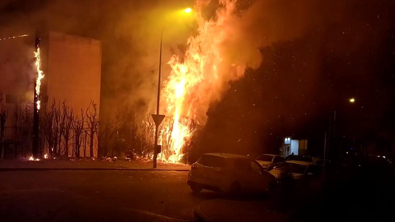 Incendio provoca la alarma en Majadahonda