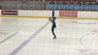 Men's Novice Free Skate Score: 61.17 First time trying a triple in ...