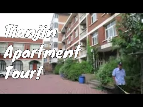 China Apartment Tour! Living in Tianjin