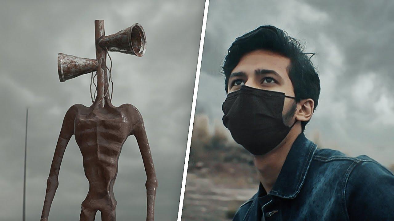 Siren Head in Real Life - Horror Short film VFX Test