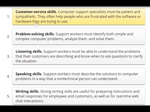 IT support job readiness & career knowledge | Part 1