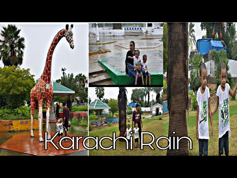 Karachi Rain | Visit to a Safari Park | Small Vlog with family from YouTube · Duration:  4 minutes 53 seconds