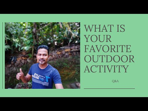 Trainer s Favorite Outside Activity