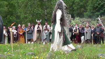 Viking Wedding in Norway at Landa Park