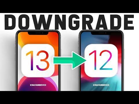 Downgrade iOS 13 to iOS 12 - iPhone iPod & iPadOS EASY Method! (Keep Data)