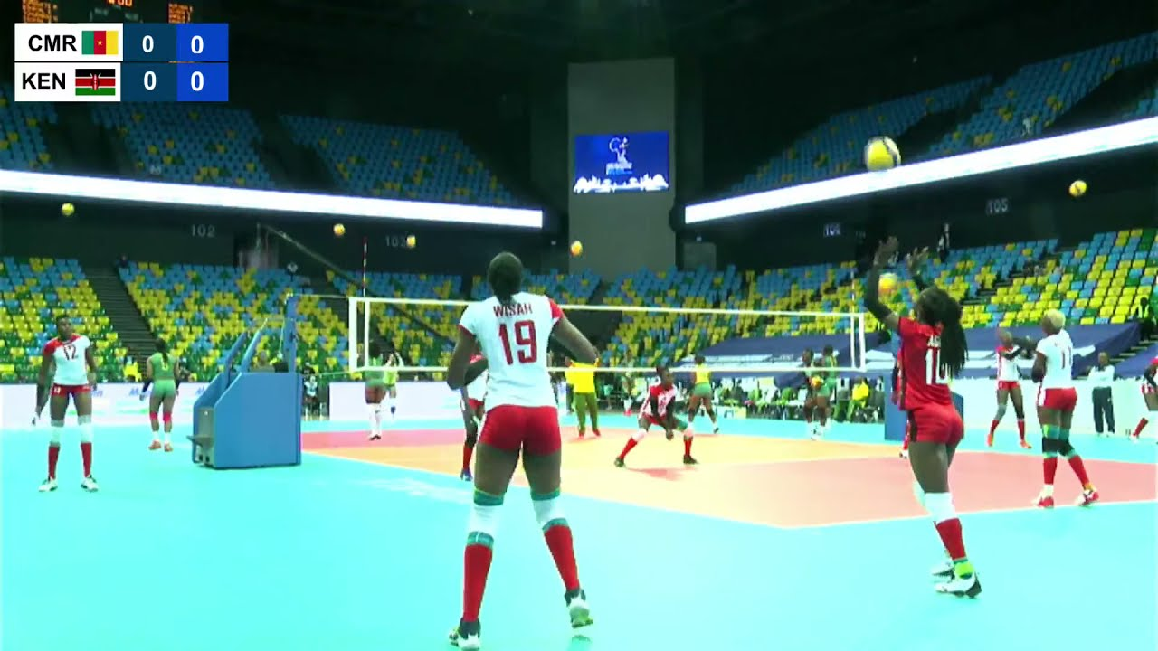 Download CAMEROON W VS KENYA  | CAVB Volleyball Women's Africa Nations Championship DAY 1 - 12.09.2021