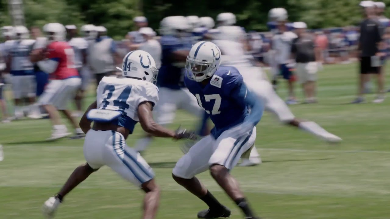 e1828e5e Undrafted Rookie Hale Hentges 'Surprising' Colts' Coaching Staff
