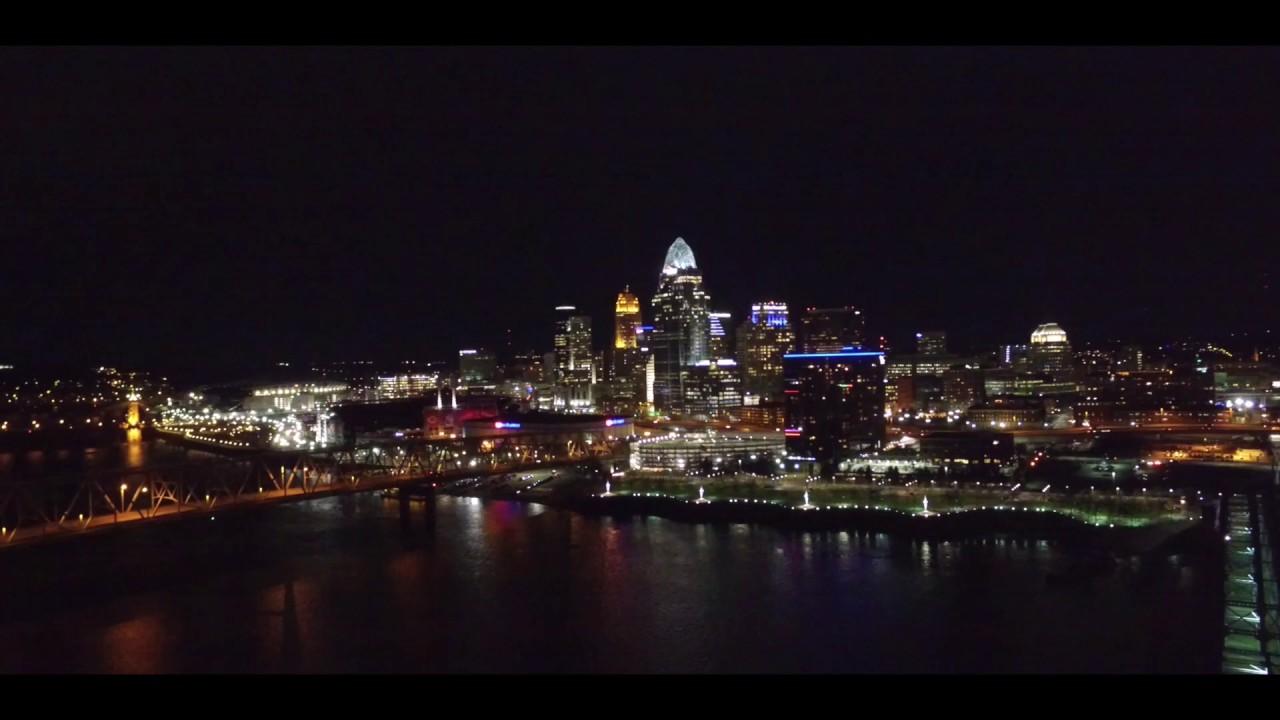 Cincinnati, Ohio Drone footage