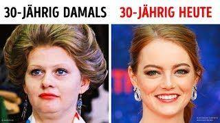 Warum sehen moderne 30-jährige Frauen jünger aus als damals?