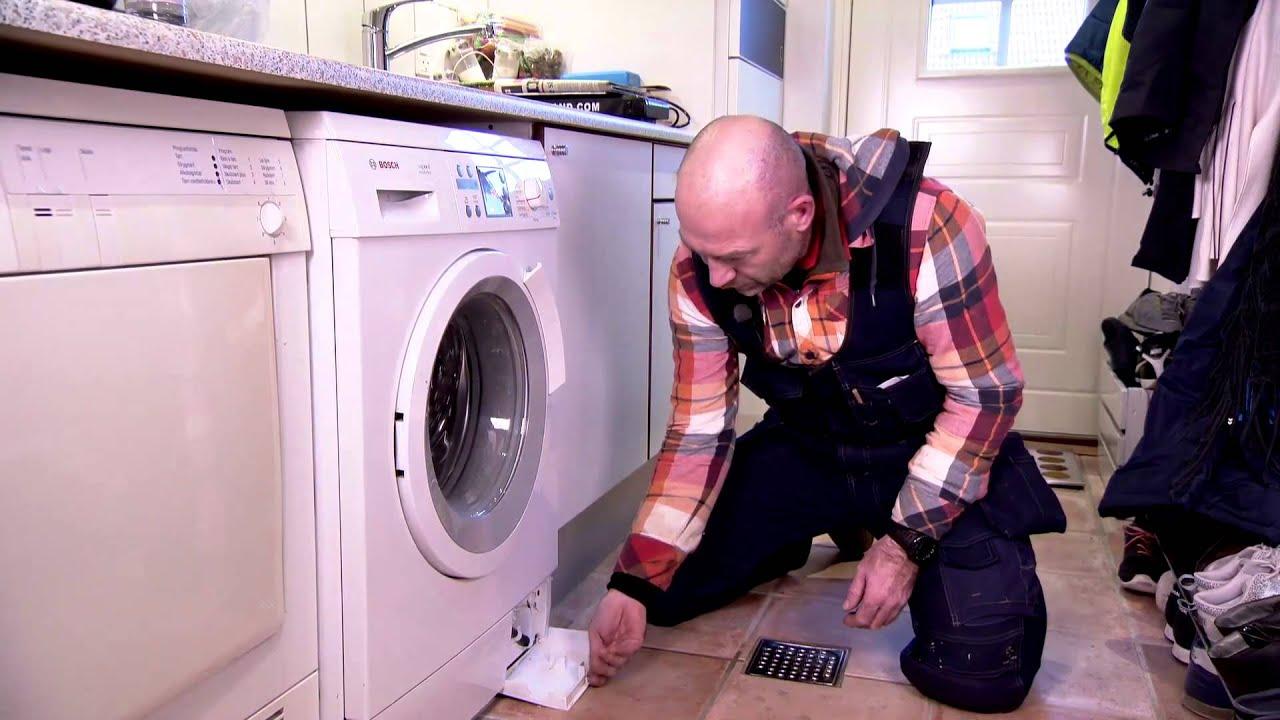 rens af vaskemaskine