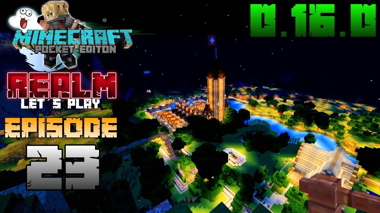 MCPE MIT EIER SPIELEN Minecraft PE MEINEKAFF Realm - Minecraft bit spiele